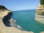 Pláž Sidari (Canal d'Amour) - ostrov Korfu foto 6