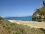 Pláž Sidari (Canal d'Amour) - ostrov Korfu foto 9