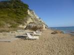 Pláž Arkoudila (Arkoudillas) - ostrov Korfu foto 2