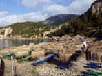 Pláž Liapades (Gefyra) - ostrov Korfu foto 1