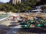 Pláž Liapades (Gefyra) - ostrov Korfu foto 4