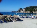 Pláž Liapades (Gefyra) - ostrov Korfu foto 6