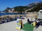 Pláž Liapades (Gefyra) - ostrov Korfu foto 7