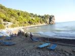 Pláž Gialiskari (Yaliskari) - ostrov Korfu foto 4