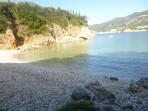 Pláž Glyko (Limni) - ostrov Korfu foto 1