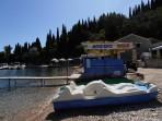 Pláž Agni - ostrov Korfu foto 2