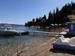 Pláž Agni - ostrov Korfu foto 3