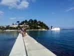 Klášter Vlacherna - ostrov Korfu foto 13