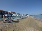 Pláž Acharavi - ostrov Korfu foto 2