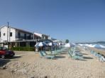 Pláž Acharavi - ostrov Korfu foto 3