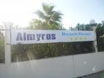 Pláž Almyros - ostrov Korfu foto 4