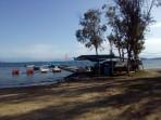 Pláž Alikes (Alykes Potamos) - ostrov Korfu foto 2