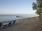 Pláž Boukari - ostrov Korfu foto 1