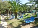 Pláž Danilia (Dafnila) - ostrov Korfu foto 4