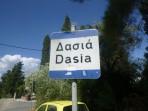 Pláž Dassia - ostrov Korfu foto 1