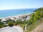 Pláž Glyfada - ostrov Korfu foto 1