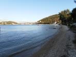Pláž Imerolia (Kassiopi) - ostrov Korfu foto 6