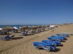 Pláž Issos - ostrov Korfu foto 1