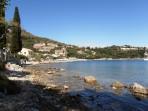 Pláž Kalami - ostrov Korfu foto 2