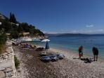 Pláž Kaminaki - ostrov Korfu foto 2