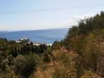 Pláž Kaminaki - ostrov Korfu foto 3
