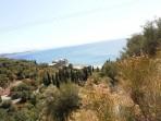 Pláž Kaminaki - ostrov Korfu foto 4