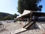 Pláž Kerasia - ostrov Korfu foto 2