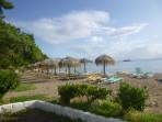 Pláž Kontokali - ostrov Korfu foto 1