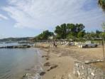 Pláž Kontokali - ostrov Korfu foto 3
