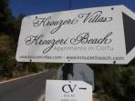 Pláž Krouzeri - ostrov Korfu foto 1