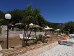Pláž Krouzeri - ostrov Korfu foto 4