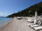Pláž Krouzeri - ostrov Korfu foto 5