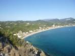 Pláž Agios Georgios Pagon - ostrov Korfu foto 1