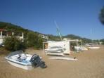 Pláž Agios Georgios Pagon - ostrov Korfu foto 2