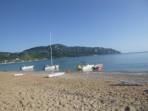 Pláž Agios Georgios Pagon - ostrov Korfu foto 3