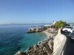 Pláž Nissaki - ostrov Korfu foto 1