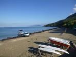 Pláž Paramonas (Paramones) - ostrov Korfu foto 3