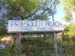 Pláž Prasoudi - ostrov Korfu foto 1