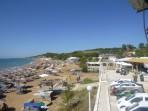 Pláž Santa Barbara (Agia Varvara) - ostrov Korfu foto 1