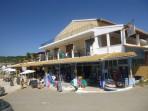 Pláž Santa Barbara (Agia Varvara) - ostrov Korfu foto 2