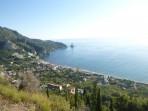 Pláž Agios Gordis - ostrov Korfu foto 1