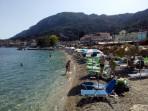 Pláž Benitses - ostrov Korfu foto 2
