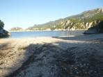 Pláž Rovinia (Rovinja) - ostrov Korfu foto 1