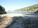 Pláž Rovinia (Rovinja) - ostrov Korfu foto 2