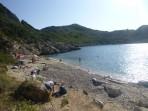 Pláž Porto Timoni - ostrov Korfu foto 1