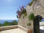 Klášter Panagia Mirtiotissa - ostrov Korfu foto 1