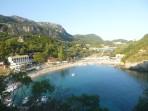 Pláž Paleokastritsa - ostrov Korfu foto 3