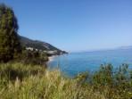Pláž Agios Ioannis Peristeron - ostrov Korfu foto 1