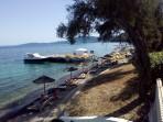 Pláž Agios Ioannis Peristeron - ostrov Korfu foto 7