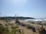 Pláž Agios Stefanos Avliotes (západ) - ostrov Korfu foto 5